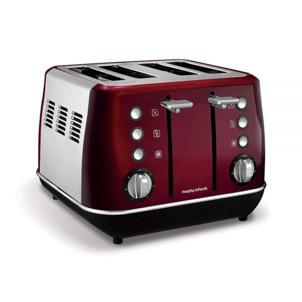MORPHY RICHARDS Evoke Core 4 Slice Toaster Red-T1-1000×1000-3451